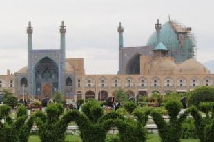 Mosque à Ishphan en Iran