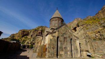 Monastere de Geghard en arménie